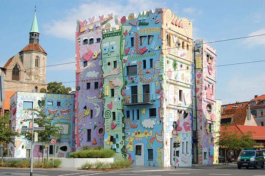 هپی ریتزی (Happy Rizzi) ساختمانی کارتونی در آلمان