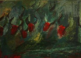نمایشگاه نقاشی گاو در شیراز برپاست