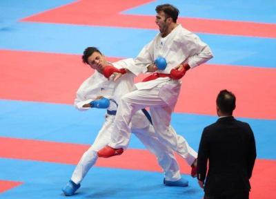 عسگری پنجمین فینالیست ایران در کاراته بازی های آسیایی