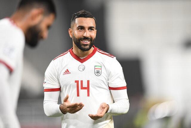 نظر قدوس درباره آینده خود در تیم ملی ایران