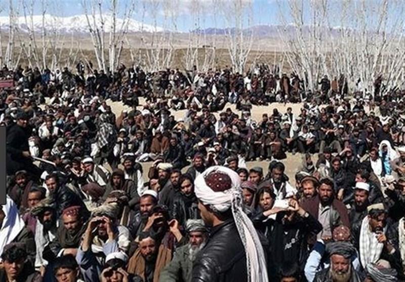 تظاهرات علیه عملیات های شبانه نیروهای آمریکایی در جنوب افغانستان