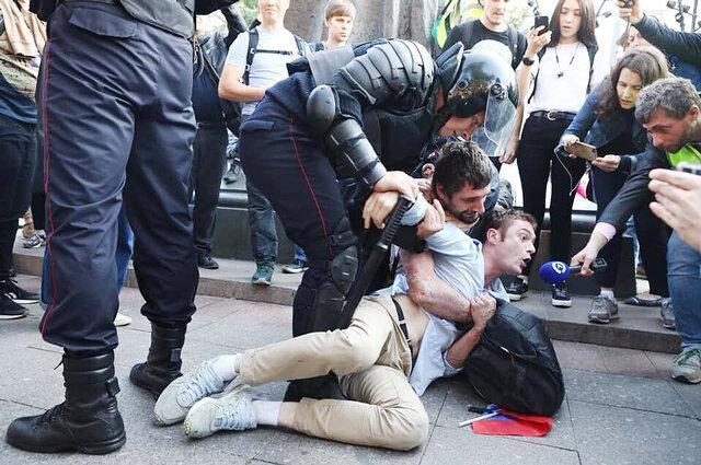 هشدار پلیس مسکو برای تجمع احتمالی 19 مرداد