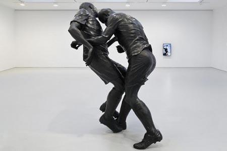آخرین ضربه سر زیدان در موزه هنر پاریس