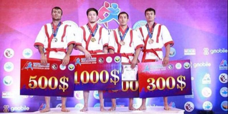 مصطفی اسکندری به نشان نقره رقابت های آسیایی قزاق کورس دست یافت