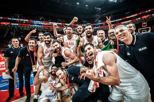 بسکتبال ایران در رده بیست و سوم، تبریک سایت المپیک به بلندقامتان
