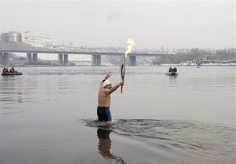 دارنده رکورد جهانی شنا در آب های سرد غرق شد!