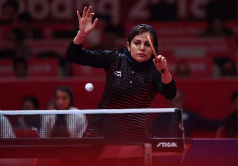 تنیس روی میز قهرمانی آسیا، حذف دو بانوی پینگ پنگ باز ایران