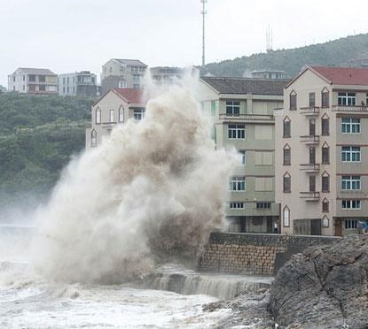 طوفان مخرب در چین؛ یک میلیون نفر به نقاط امن منتقل شدند