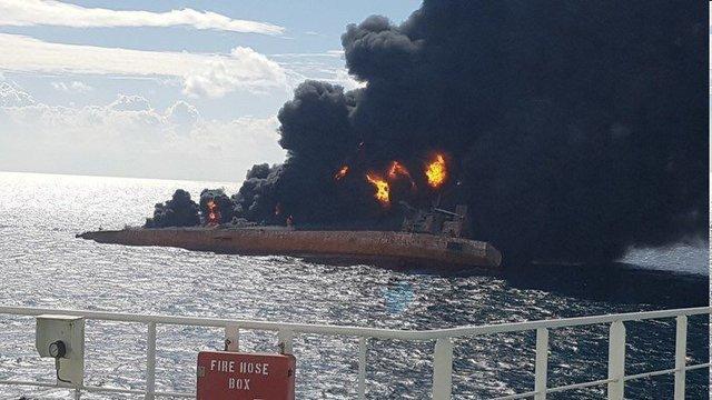 یک نفتکش دیگر در آب های هنگ کنگ دچار سانحه شد