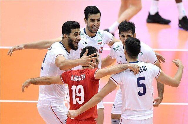 جام جهانی والیبال 2019 - ژاپن؛ نخستین پیروزی والیبال ایران با جوانان ، کانادا تسلیم شد