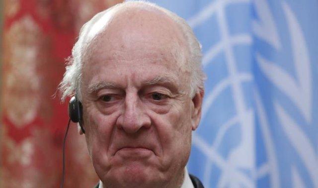 دی میستورا: استعفا دادم چون نمی خواستم با اسد دست بدهم