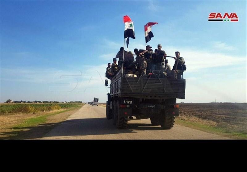 درگیری های شدید ارتش سوریه و نیروهای ترکیه در شمال غرب الحسکه