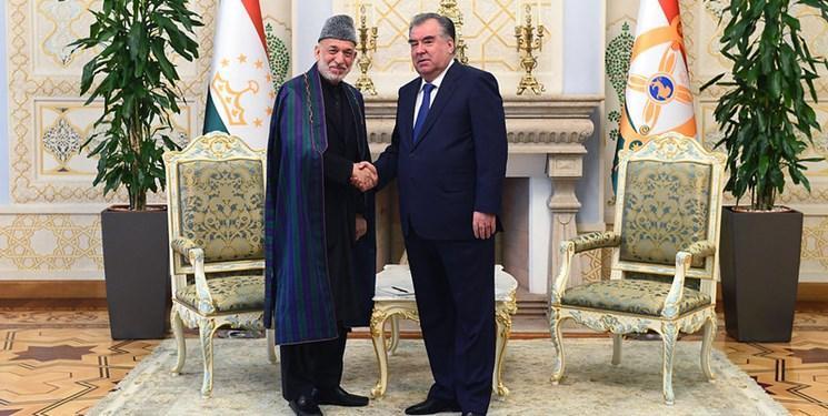 ملاقات رحمان با رئیس جمهور سابق افغانستان