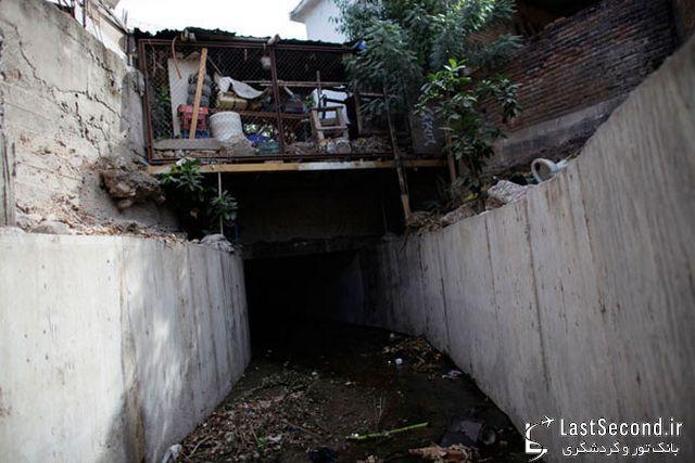 جاذبه گردشگری جدید : تونل فرار سلطان مواد مخدر