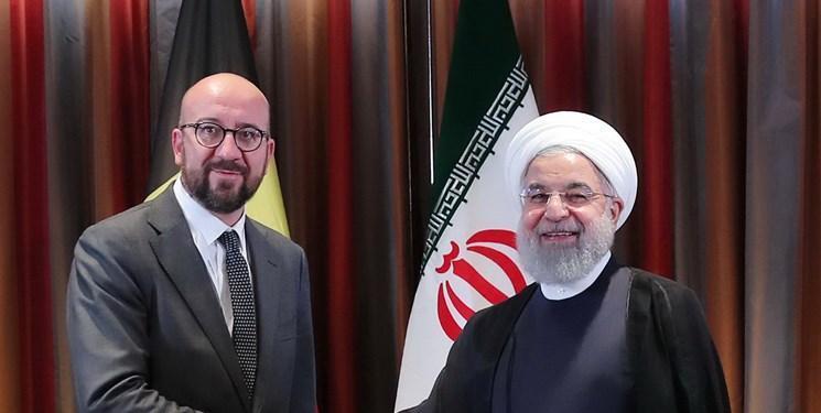 تماس تلفنی رئیس شورای اروپا با روحانی درباره برجام و منطقه