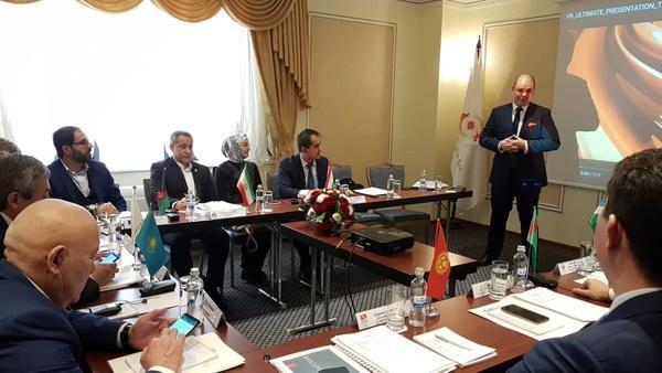 حضور کیکاوس سعیدی دراجلاس دبیران کل کمیته های ملی المپیک آسیای میانه