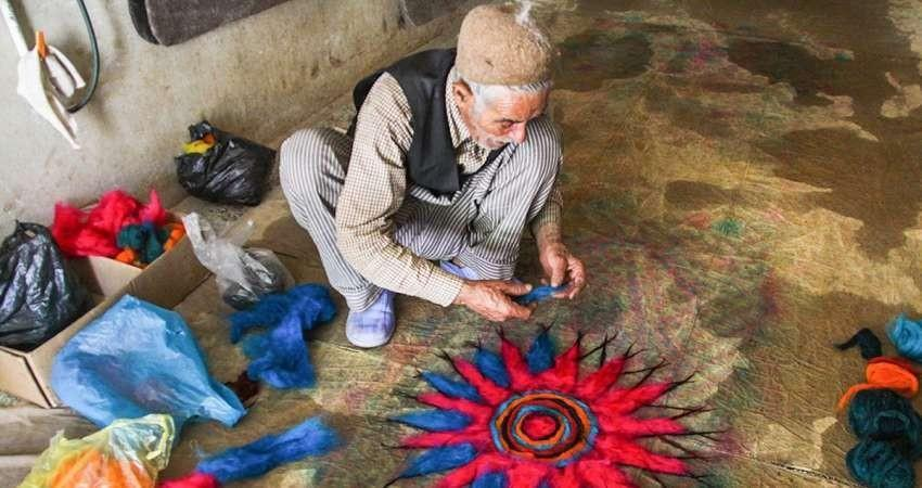 نشست نمدمالی، هنری که باید از نو شناخت برگزار شد