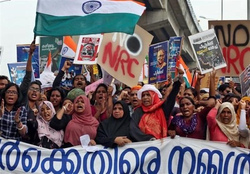 تظاهرات علیه قانون تبعیض مذهبی در 128 شهر هند ادامه یافت