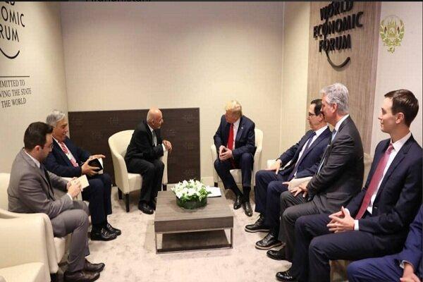 ترامپ و غنی ملاقات کردند