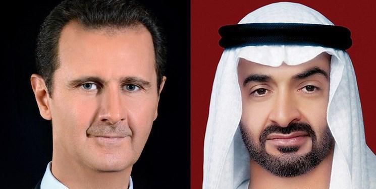 گفت وگوی تلفنی بشار اسد و ولیعهد ابوظبی