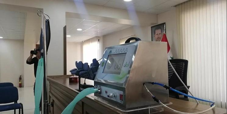 تصاویر ، ساخت دستگاه تنفس مصنوعی بومی توسط متخصصان سوریه
