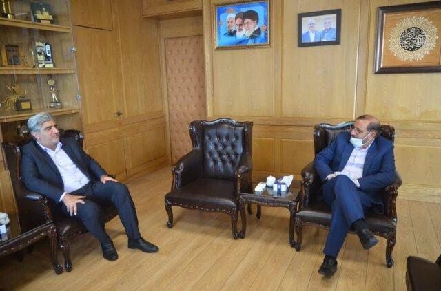 نشست منتخب بویراحمد و دنا با مدیرعامل سازمان تامین اجتماعی کشور