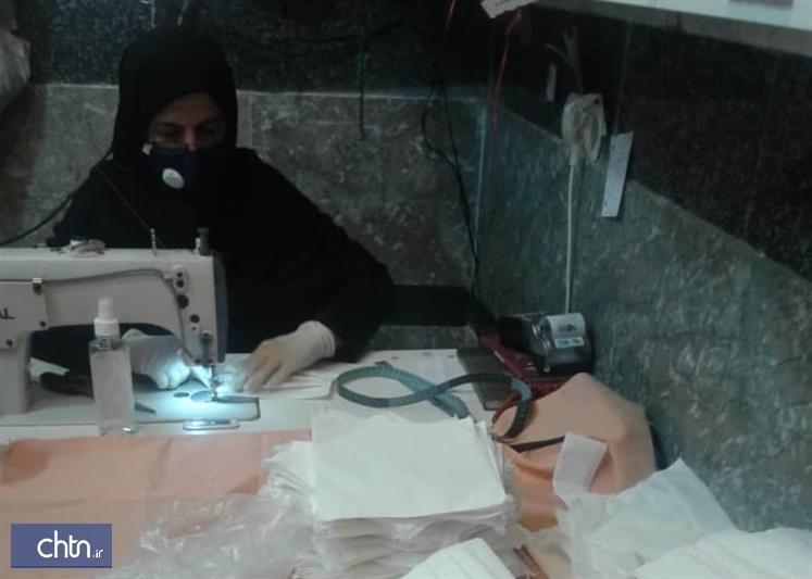 فراوری 110هزار ماسک توسط هنرمندان صنایع دستی مازندران