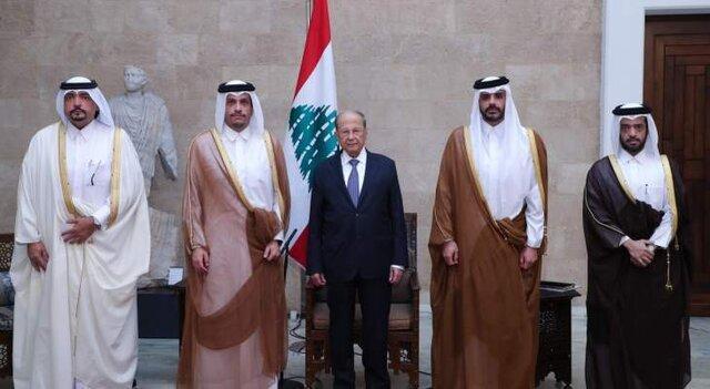 تاکید وزیر خارجه قطر در لبنان بر اجرای اصلاحات در این کشور