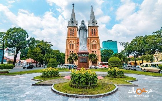 کلیسای جامع نوتردام سایگون در ویتنام