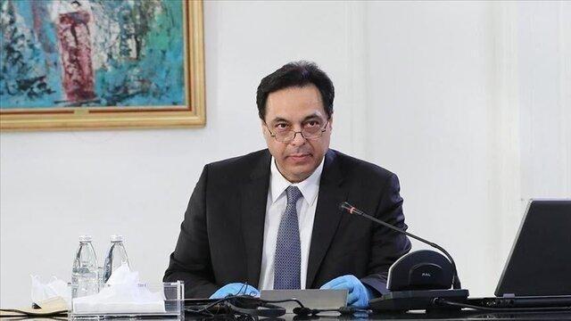 دیاب: استعفای دولت لبنان را اعلام می کنم، سیستم فساد فراتر از کشور است