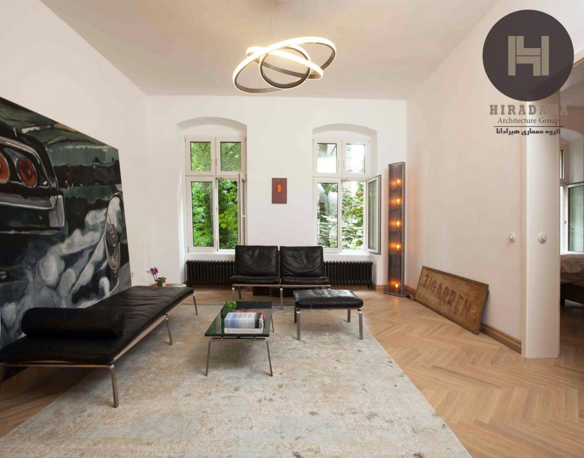 بازسازی و طراحی خانه برو در برلین آلمان