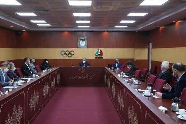 برگزاری مشروط نشست هیات اجرایی کمیته ملی المپیک