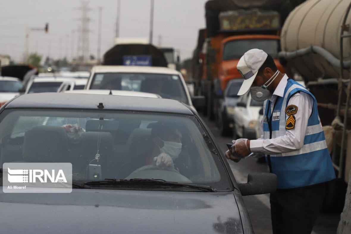 خبرنگاران مردم 90 درصد از عملکرد پلیس راه ایلام رضایت دارند