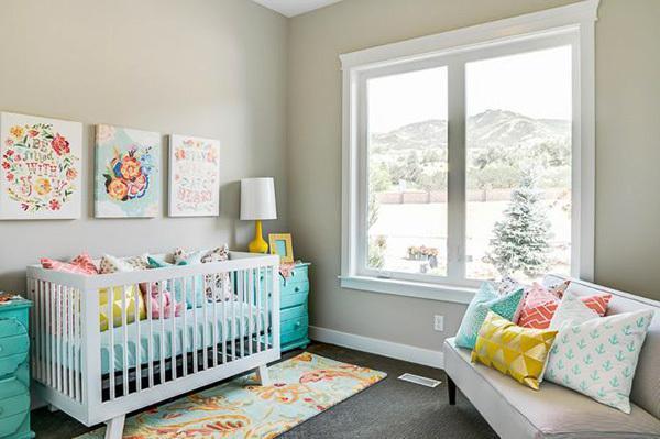 10 نکته طلایی در مورد دکور اتاق نوزاد
