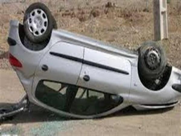 واژگونی خودرو در محور فیروزه -نیشابور با یک کشته