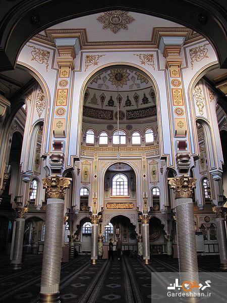 مسجد جامع شافعی کرمانشاه؛ مسجدی با معماری ترکیه ای