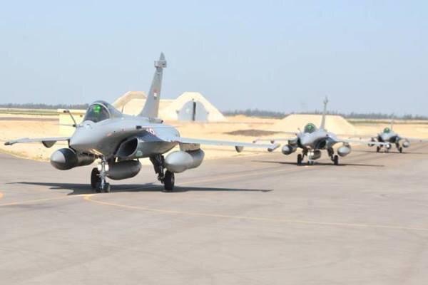 رزمایش هوایی مشترک مصر- فرانسه شروع شد