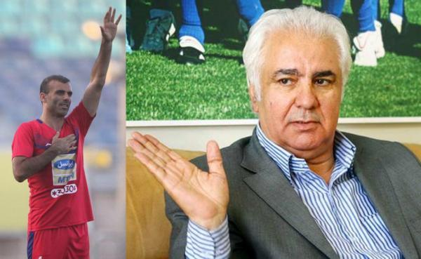 حمله پیشکسوت استقلال به سیدجلال حسینی