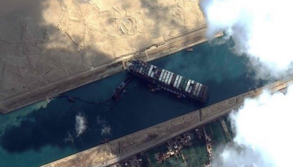 مصر 550 میلیون دلار از کشتی ژاپنی اِورگیون غرامت خواست