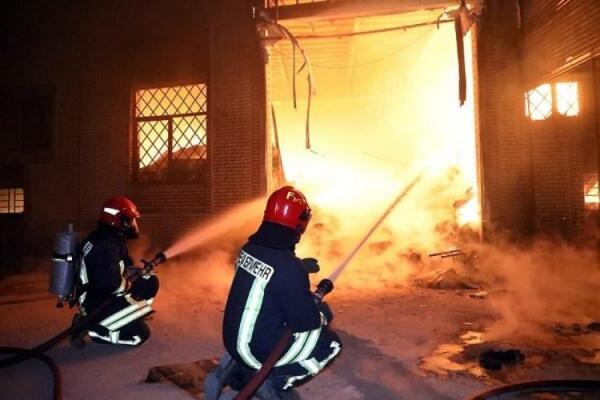 آتش سوزی در فولاد زرند ایرانیان مهار شد