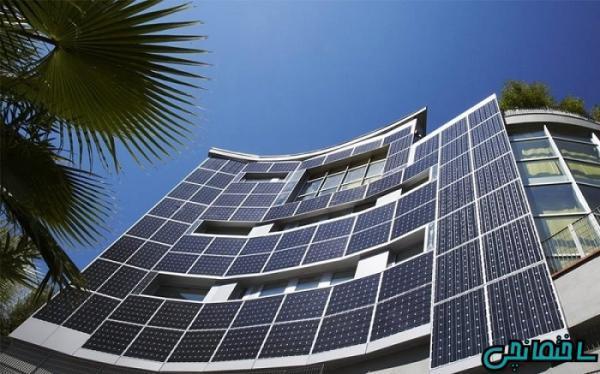 معماری ساختمان با سیستم های فعال و غیرفعال خورشیدی
