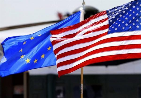 نشست آشتی کنان امریکا با اتحادیه اروپا