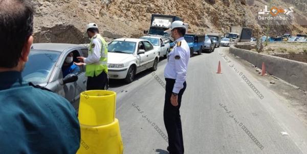 تداوم ورود ممنوع درمحورهای شمال، جریمه کرونایی خودروها به مرز 80 هزار رسید