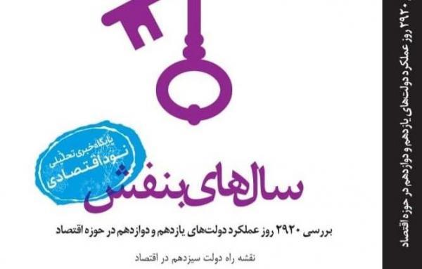 سال های بنفش منتشر شد، آنالیز کارنامه مالی دولت حسن روحانی در 2920 روز